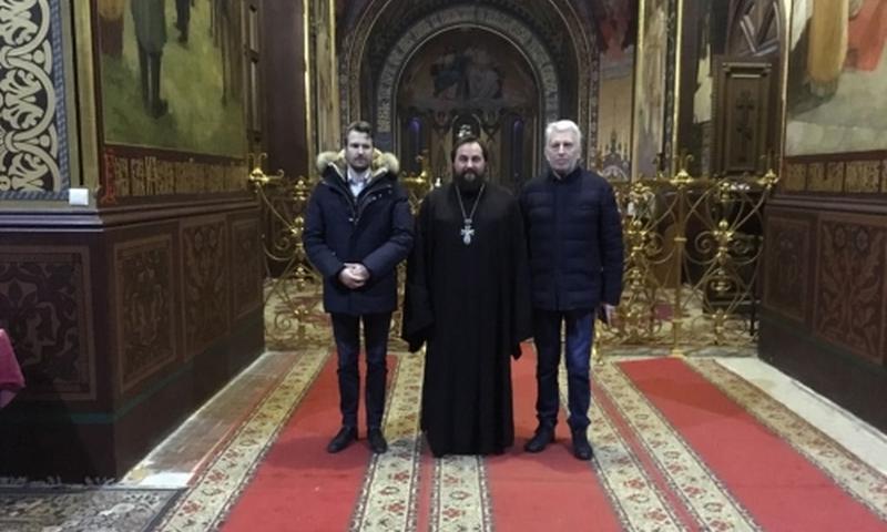 Патриарший Вознесенский собор с экскурсией посетила делегация Королевства Нидерланды