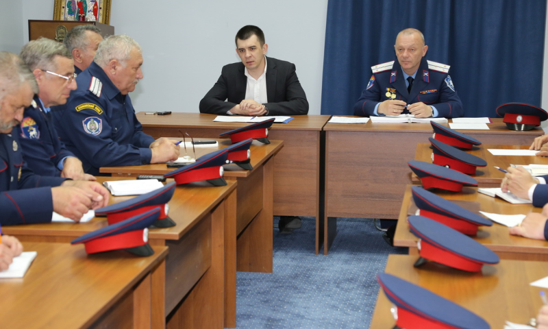 В Ростовской области назначен  начальник управления по организации и координации деятельности казачьих дружин