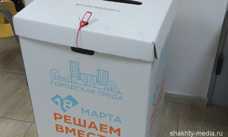 В Шахтах подведены итоги голосования по отбору общественных территорий  в рамках проекта «Формирование комфортной городской среды»