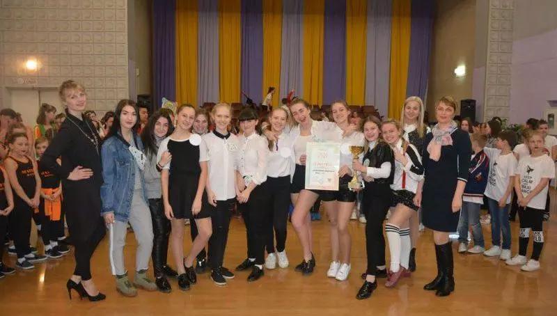 Лицею №6 г. Шахты присуждено звание «Лучшая танцующая школа города»