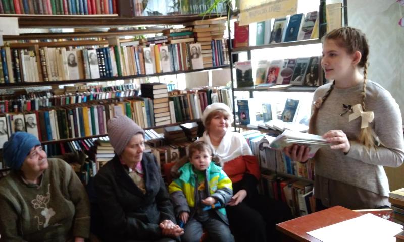 В библиотеке им. А.Л.Барто прошел День информации «Души людской затрагивая струны», посвященный Всемирному дню поэзии