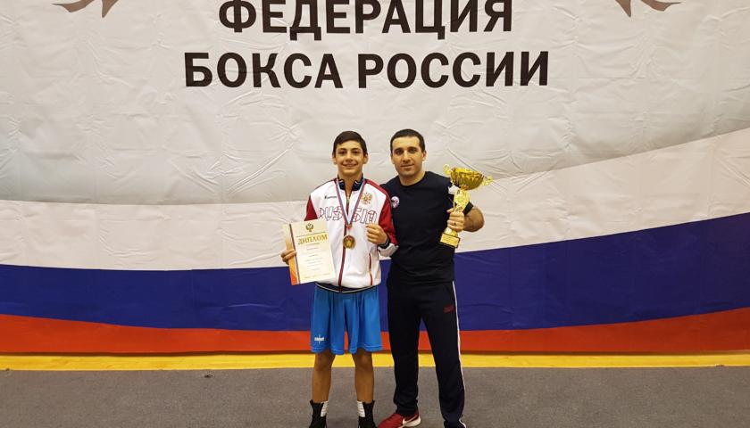 Шахтинец стал победителем Первенства России по боксу