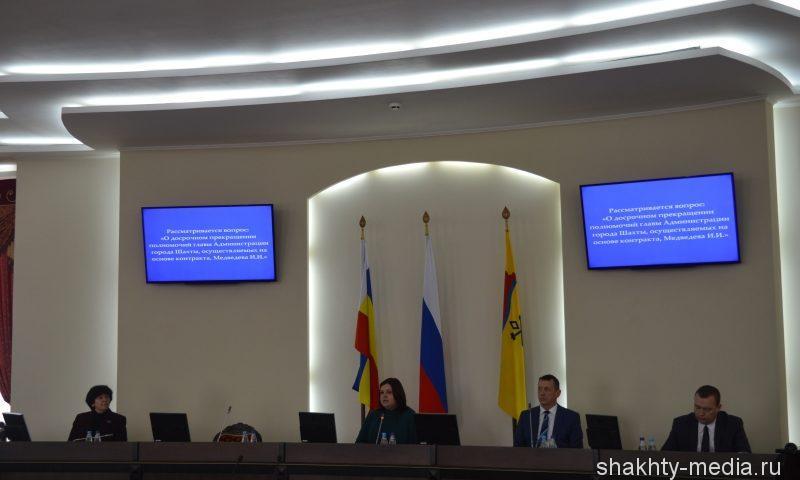 Глава администрации города Шахты Игорь Медведев ушел в отставку