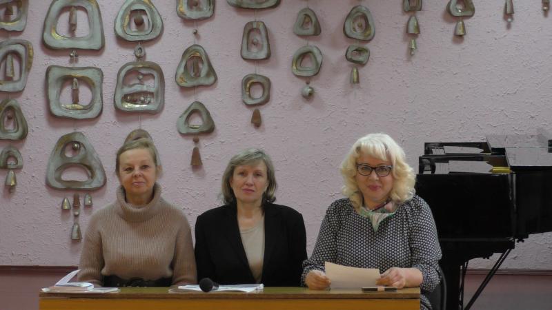 В школе искусств г.Шахты прошла встреча с представителями Таганрогского института имени А.П.Чехова