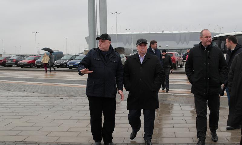Первый тестовый матч на «Ростов-Арене» соберет 13000 зрителей