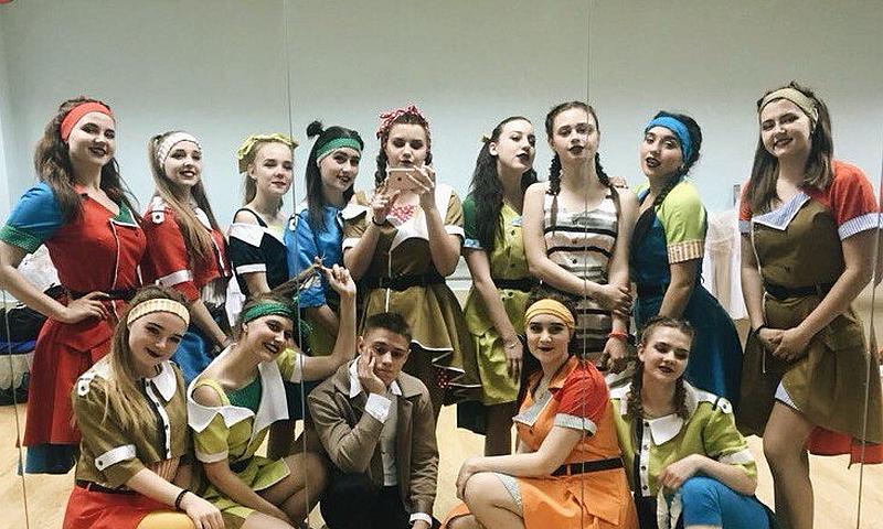 Шоу-балет из г. Шахты стал обладателем диплома I степени фестиваля студенческого творчества