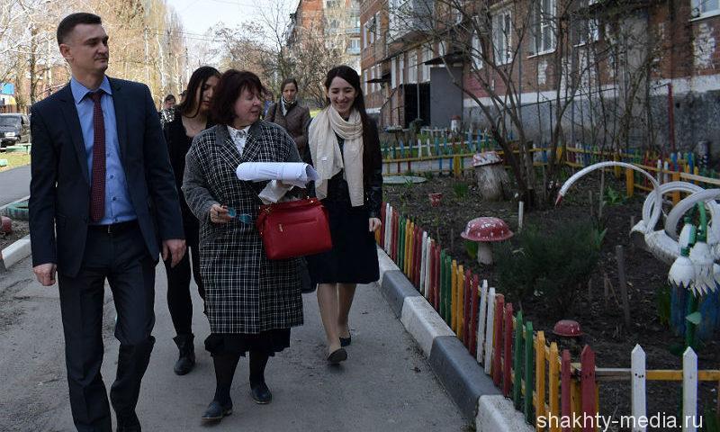 Замминистра ЖКХ Ростовской области Валерий Былков приехал в Шахты с рабочим визитом