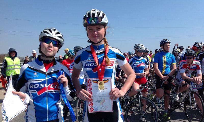 Шахтинские велогонщицы привезли десять наград с первенства Ростовской области