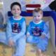 Лазаревы Кирюша, 8 лет и Дениска, 2 года