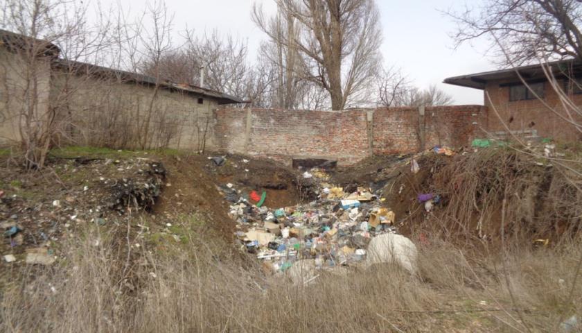 350 тонн мусора убрано в поселке ХБК г.Шахты