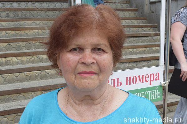 Тамара Бурундукова, пенсионерка: