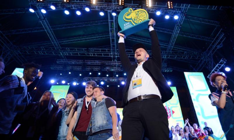 Ростовская область получила Гран-при за лучшую региональную программу на «Российской студенческой весне 2018»