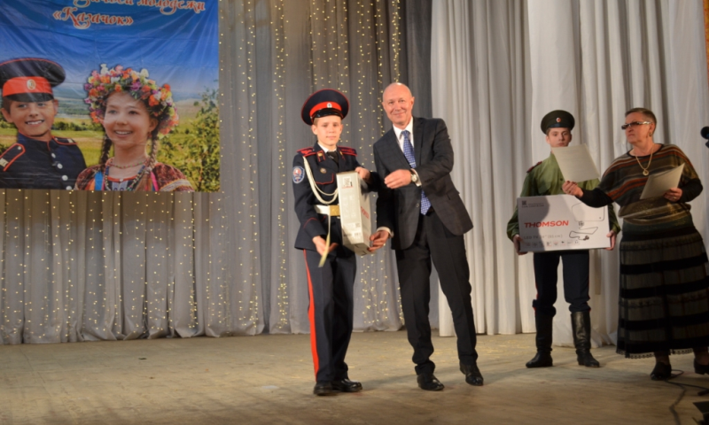 В Белой Калитве прошел областной фестиваль казачьей молодежи «Казачок»