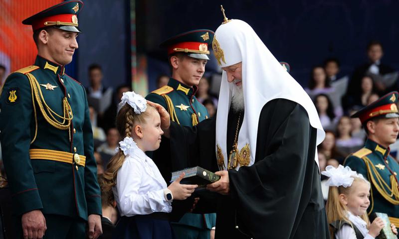 Епископ Симон посетил концерт на Красной площади, посвященный Дню славянской письменности и культуры