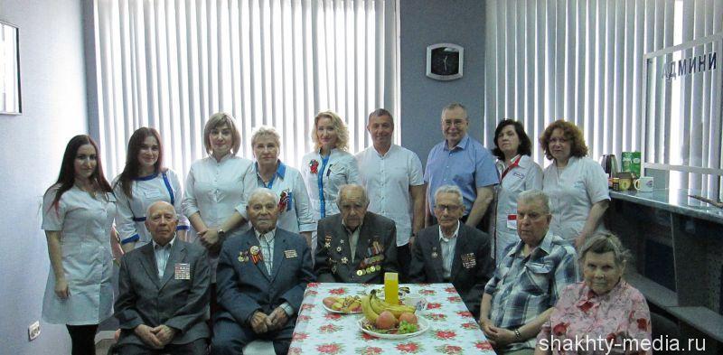 Медицинский центр «Кардиоплюс» второй раз провел благотворительную акцию для шахтинских ветеранов