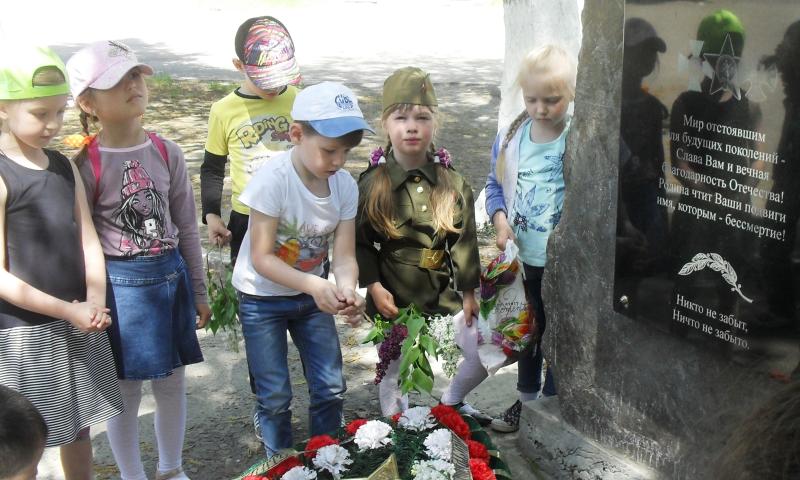 В детском саду №28 поселка Майский прошла неделя «Поколение победителей»