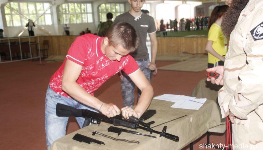 Впервые в г. Шахты была организована спартакиада казачьей молодежи