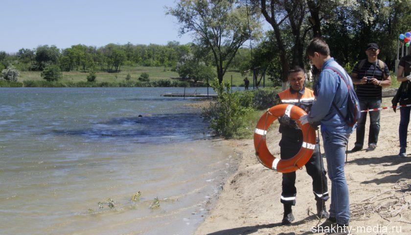 Спасатели г. Шахты научили молодежь правилам безопасности на воде