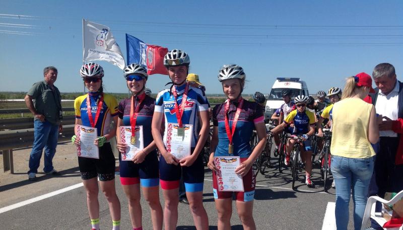 Сборная команда г.Шахты заняла третье место на Х Спортивных играх молодежи по велоспорту-шоссе