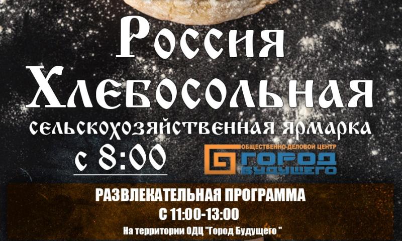 12 июня шахтинцы  могут погулять на празднике «Россия хлебосольная»
