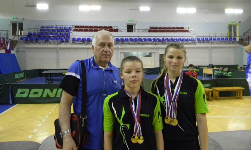 Спортсменки г. Шахты вернулись с чемпионата России с пятью медалями