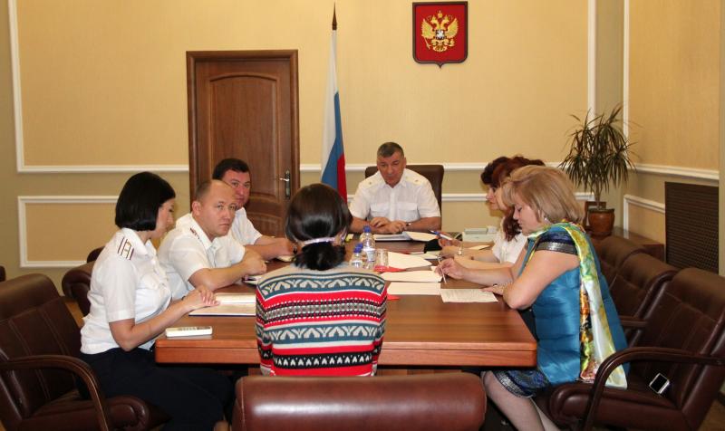 Руководитель донского ГУФСИН провел прием граждан по поручению главы государства