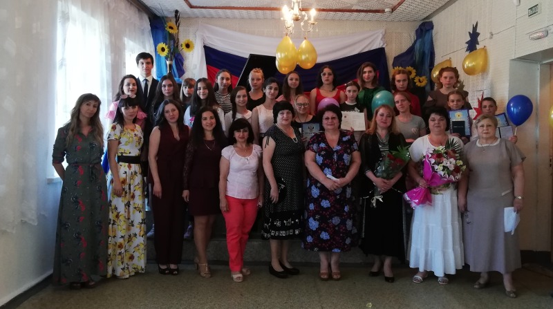 В Центре искусств казачьей культуры г.Шахты прошел выпускной вечер  «Созвездие  2018»