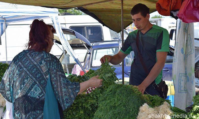 В Шахтах прошла продовольственная ярмарка