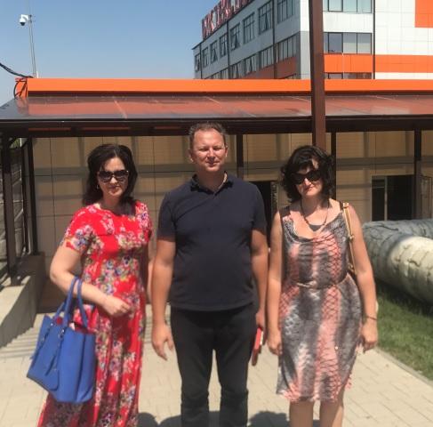 ИСОиП (филиал) ДГТУ г.Шахты развивает  партнерские связи с  ООО «БТК Текстиль»
