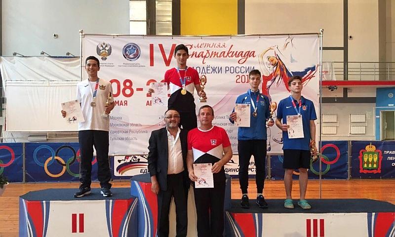 На IV летней спартакиаде молодежи России по тхэквондо шахтинские спортсмены завоевали медали
