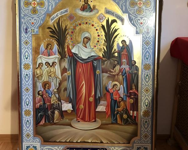 Ростовскому храму Петра и Февронии пожертвована икона Богородицы «Всех скорбящих Радость»