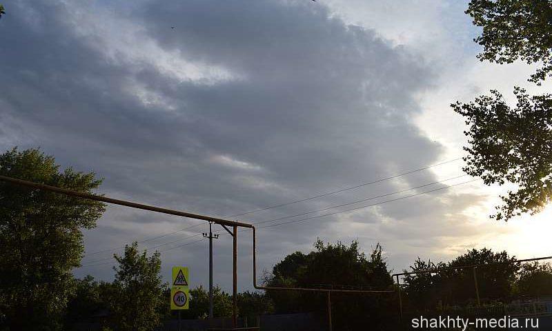 Экстренное штормовое предупреждение! Ожидаются ливни с грозой, градом и шквалистым ветром