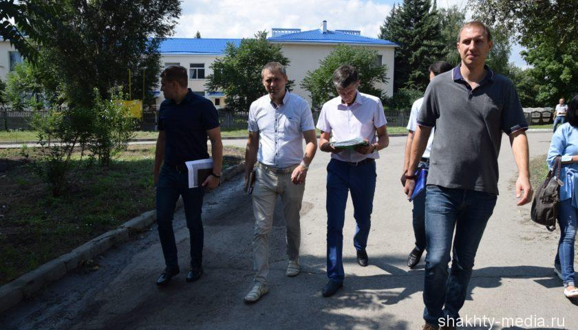 Проведен объезд территории по проверке поручений главы администрации г.Шахты