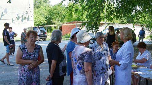 Жители поселка ГРЭС совершили прогулку с доктором