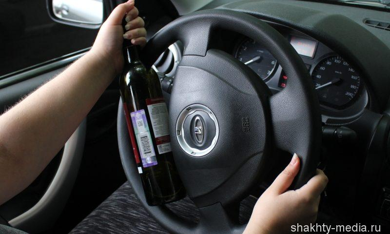В Шахтах проверяют водителей на трезвость