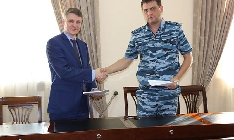 Подписано Соглашение о сотрудничестве администрации города Шахты и исправительной колонии №9
