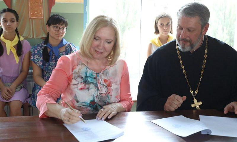 Шахтинская епархия РПЦ и Южный федеральный университет заключили соглашение о сотрудничестве