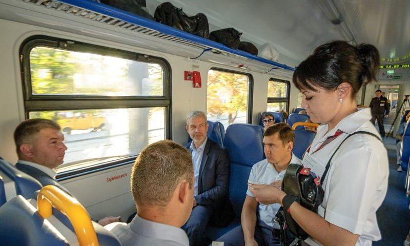 В 2018 году в Ростовской области парк пригородных поездов полностью обновится