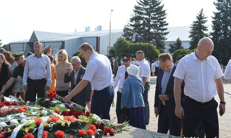 В Шахтах отметили 75-летие со дня освобождение Ростовской области от немецко-фашистских захватчиков