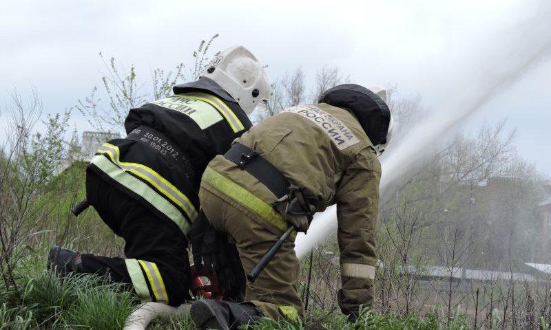За неделю в Ростовской области пожарно-спасательными расчетами ликвидировано 52 пожара, спасено 56 человек