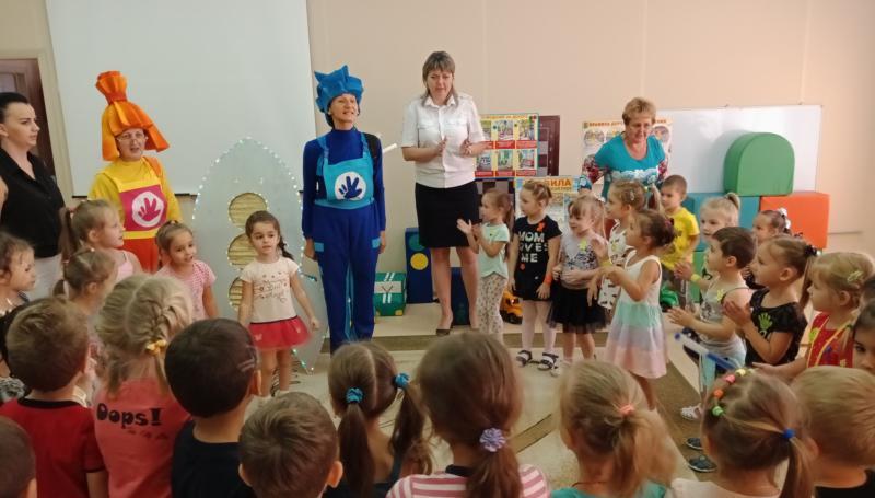 В детском саду №91  прошла акция «Законопослушный пешеход»