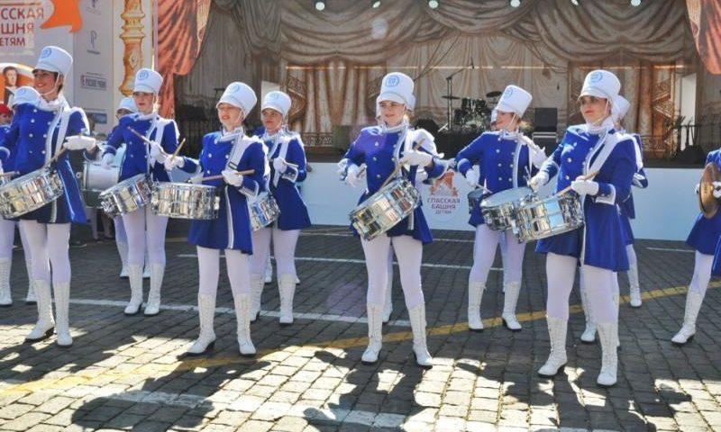 «Жемчужины ДГТУ» г.Шахты выступили на международном фестивале «Спасская башня»