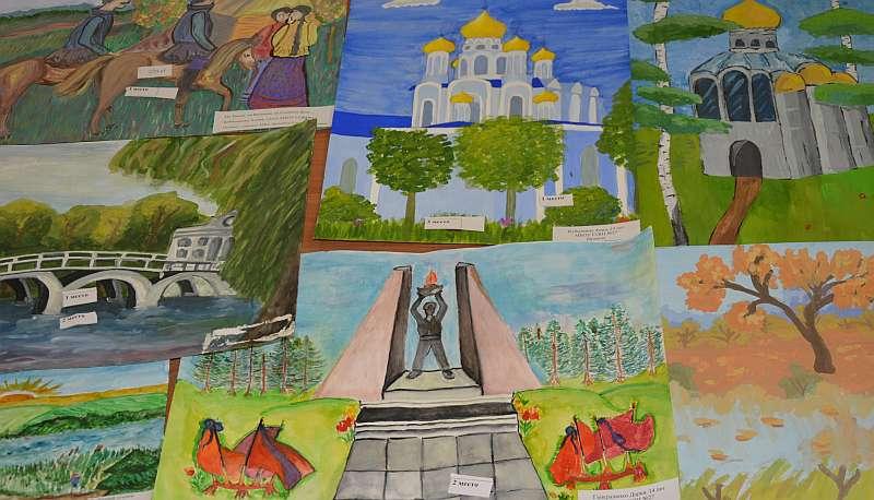 В Шахтах подвели итоги конкурса рисунков «Дети мира – детям войны»