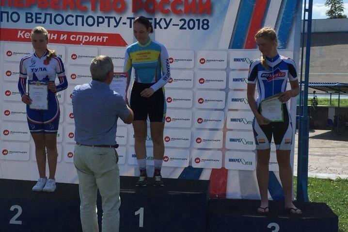 Шахтинка Софья Володина завоевала две медали на Всероссийских соревнованиях