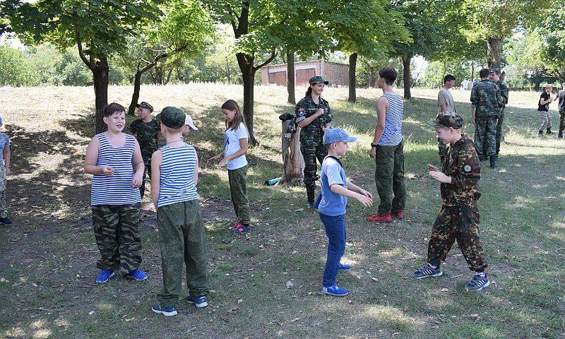 Впервые в Шахтах организовали казачьи полевые сборы