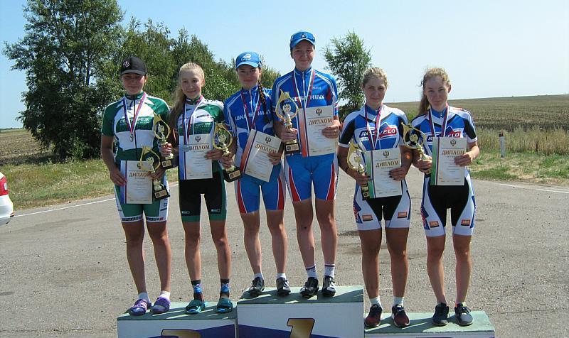 Шахтинка  Ангелина Войцех привезла бронзу с первенства России по велоспорту