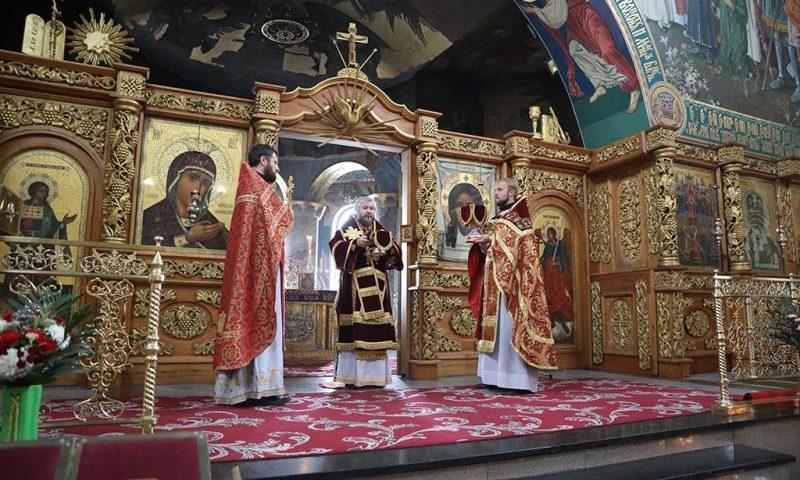 В  Покровском кафедральном соборе прочитано  послание Святейшего Патриарха Кирилла  по случаю Дня трезвости