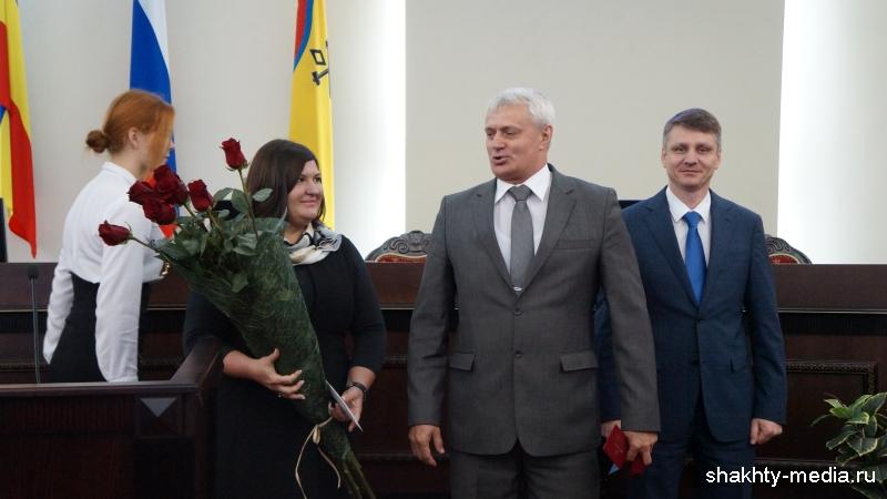 Иван Вансович награжден медалью «За заслуги перед городом Шахты»