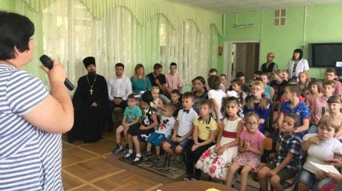 В День добрых дел волонтеры побывали в гостях у воспитанников РЦ «Добродея» г.Шахты