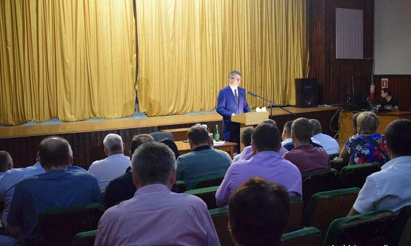Глава администрации г.Шахты Андрей Ковалев встретился с жителями поселка Красина